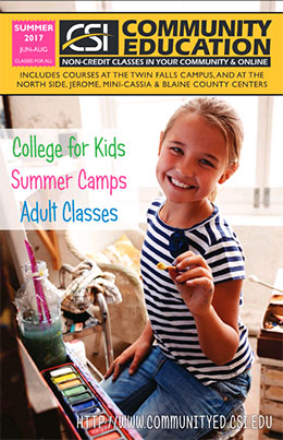 Community Education Catalog Summer 2017